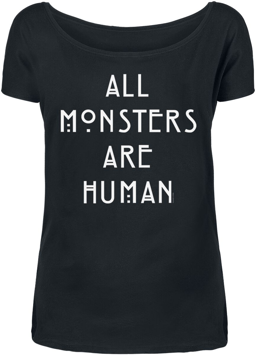 Image of American Horror Story All Monsters Are Human Girl-Shirt schwarz