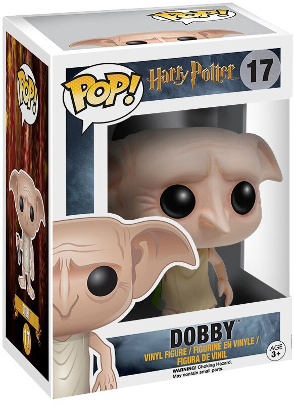Harry Potter Dobby Vinyl Figure 17 Funko Pop! multicolor 6561