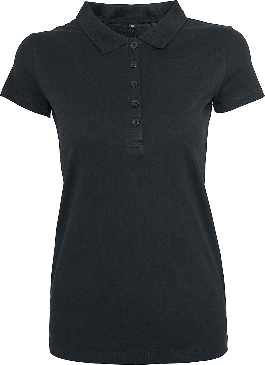RED by EMP - Ladies Jersey Polo - Girls shirt - black image