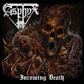Image of Asphyx Incoming death CD Standard