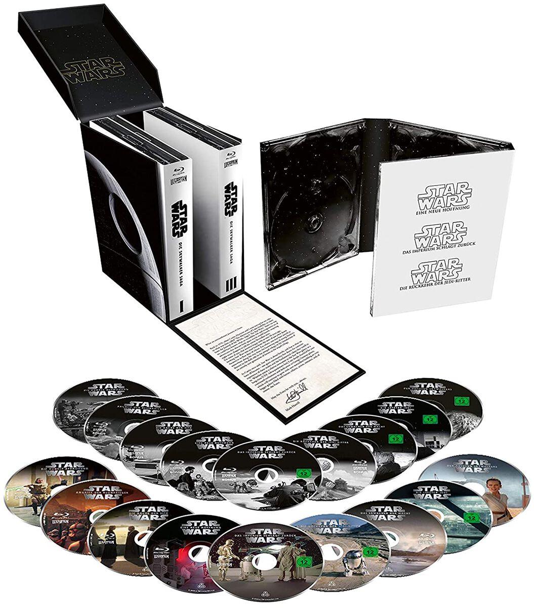 Image of Star Wars Star Wars 1-9 - Die Skywalker Saga 18-Blu-ray Standard