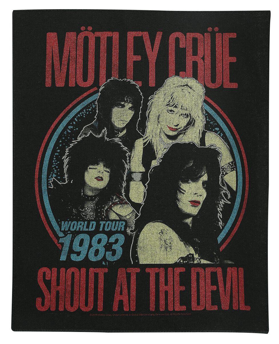 Image of Mötley Crüe Shout At The Devil Backpatch multicolor