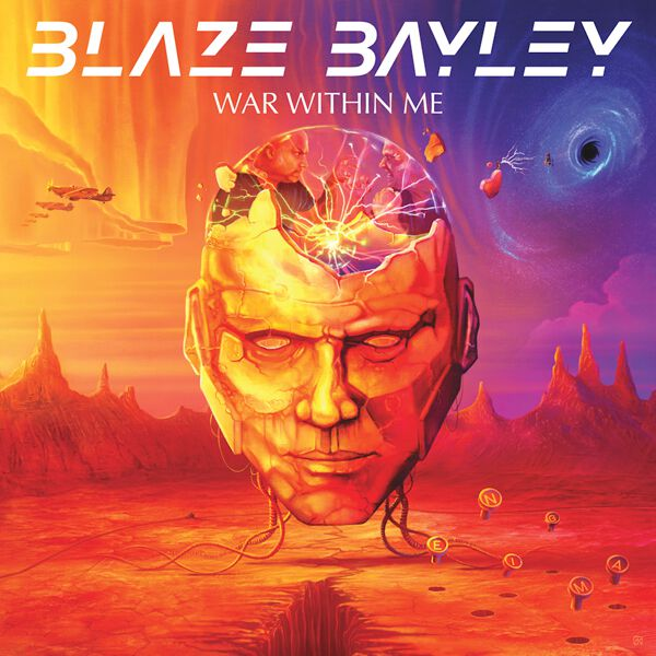 Bayley, Blaze War within me CD multicolor BBRCD017