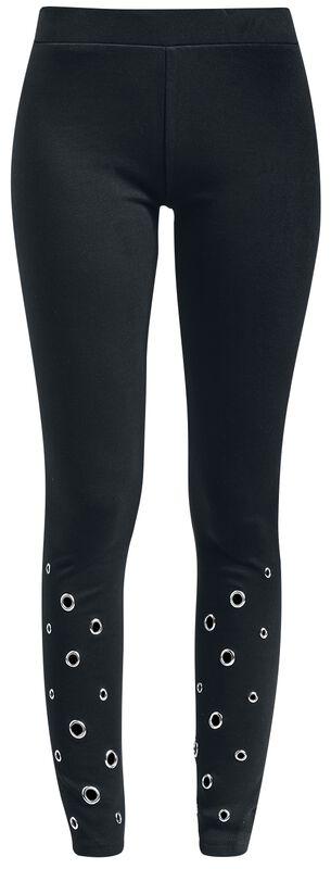 Ladies Eyelet Leggings