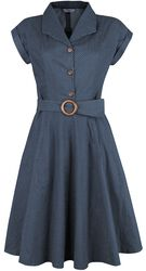 Spot Perfection Fit & Flare Dress