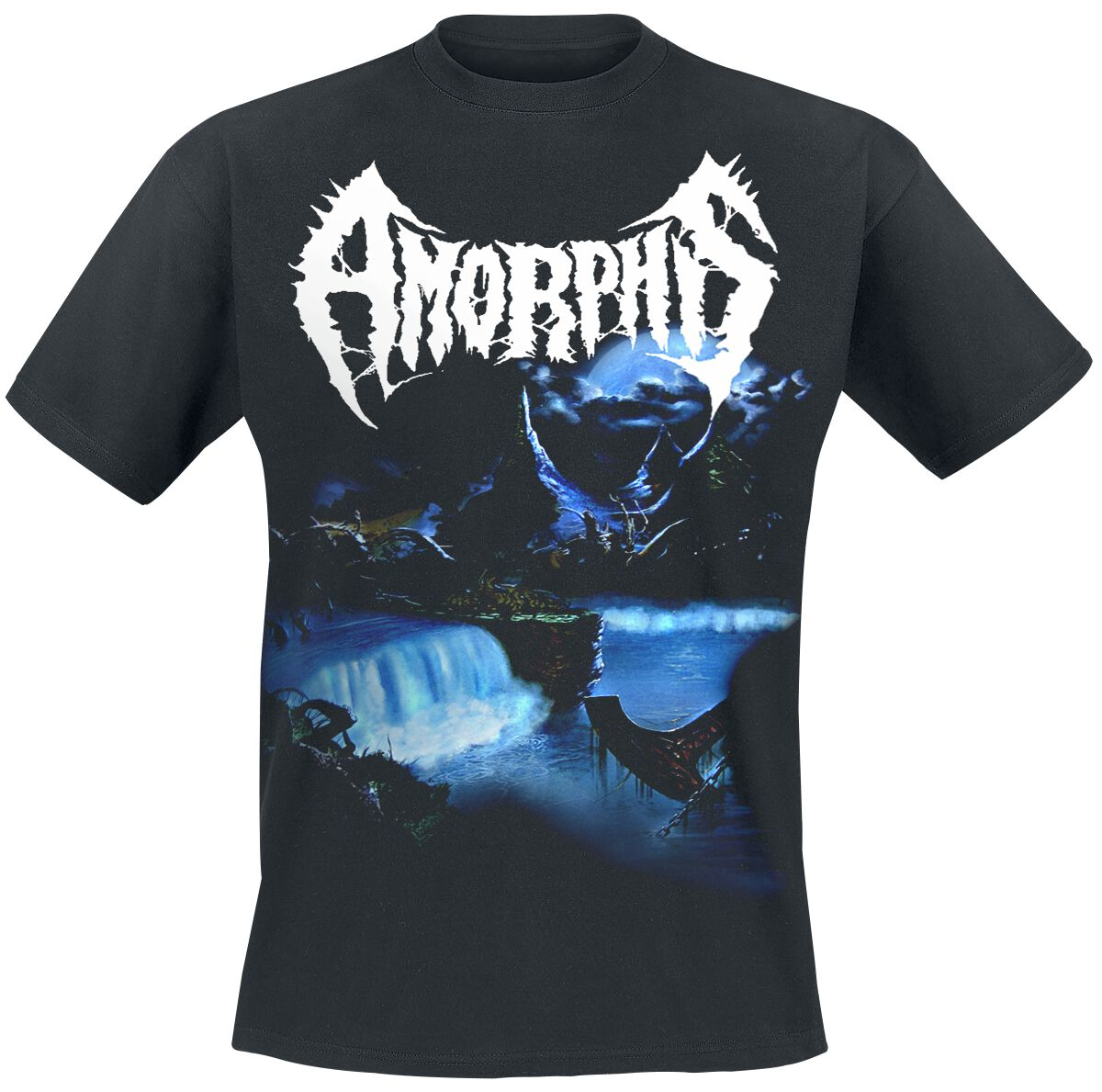 Image of Amorphis Tales From The Thousand Lakes T-Shirt schwarz