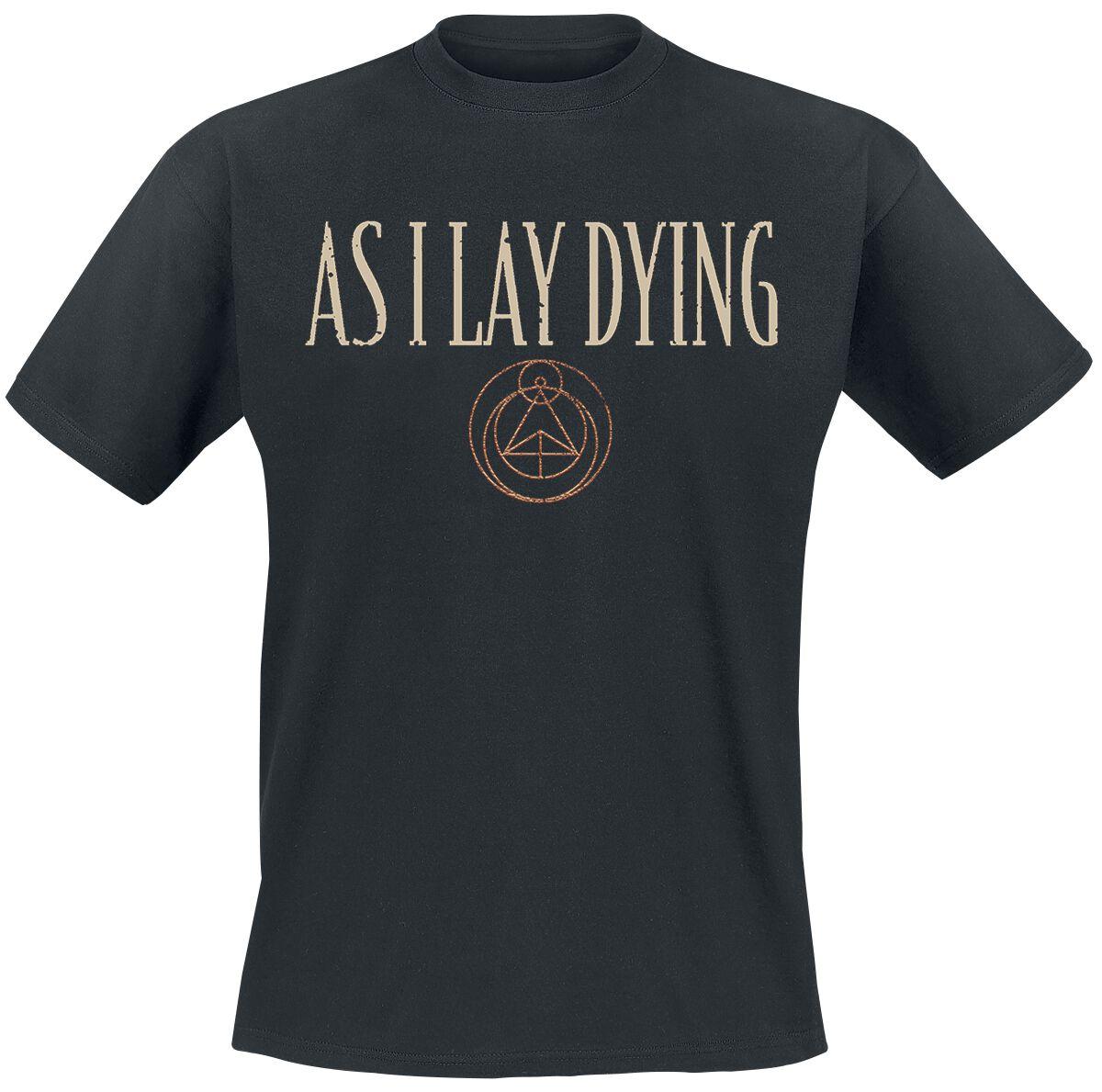Image of As I Lay Dying Skulls T-Shirt schwarz