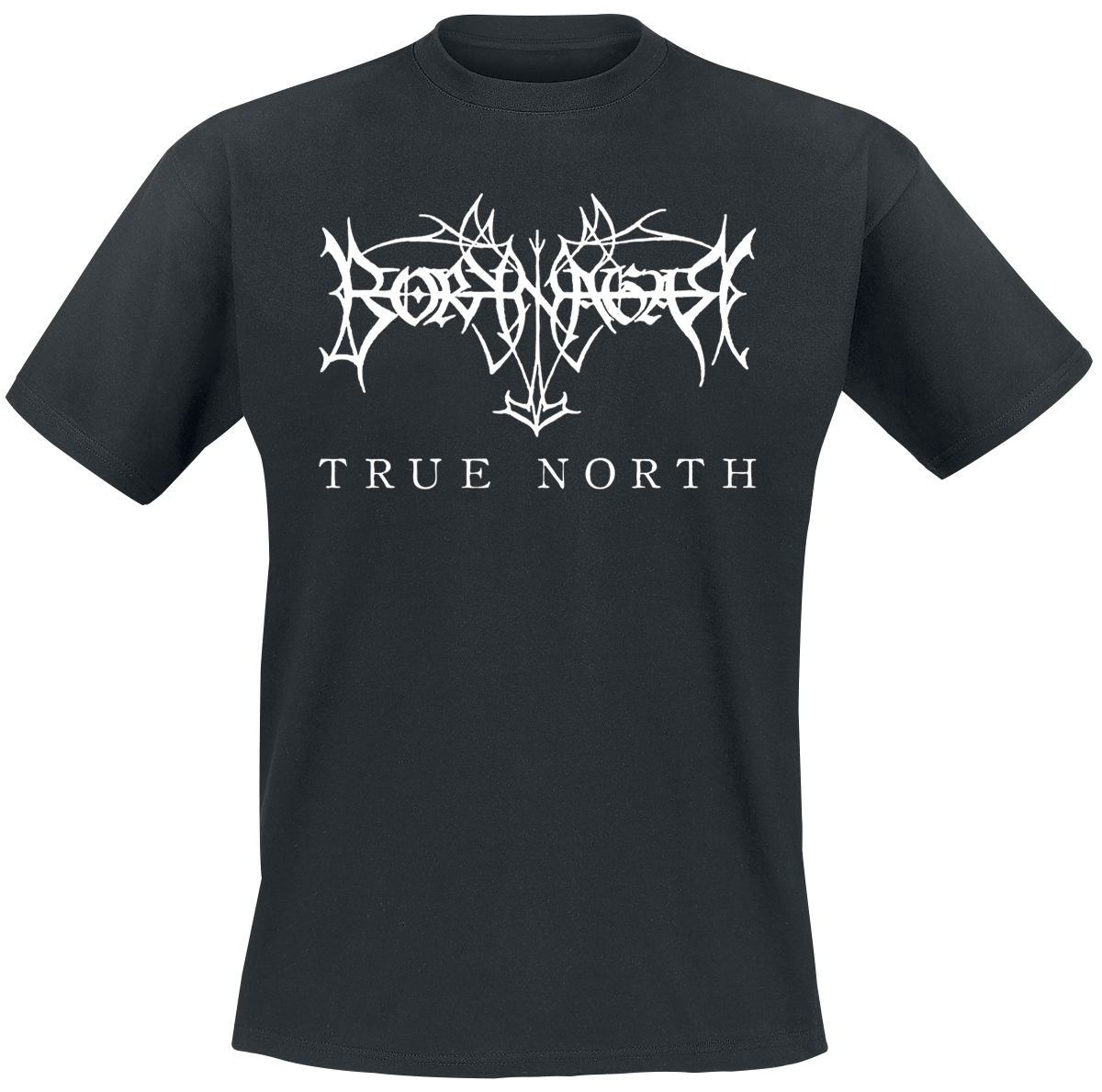 Borknagar - True North - Logo - T-Shirt - black image