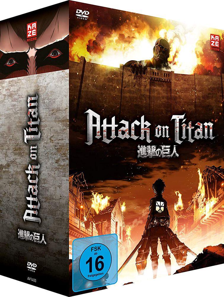 Image of Attack On Titan Staffel 1 - Gesamtausgabe 4-DVD Standard