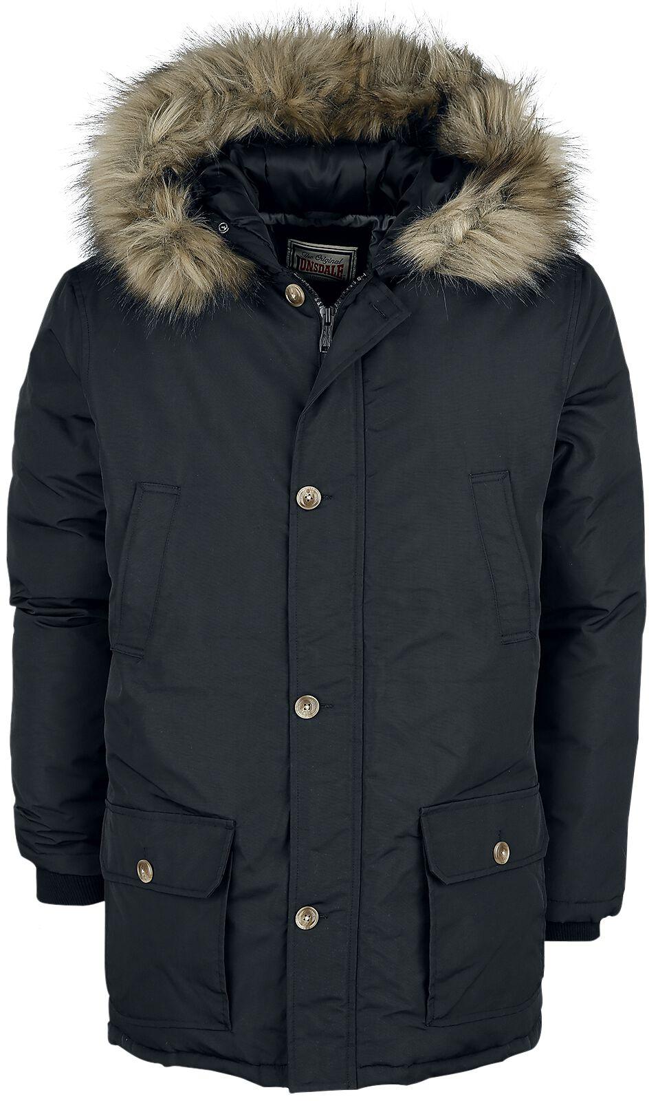 Lonsdale London Streetlam Winterjacke schwarz 116054