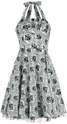 Arcadia Black Rose Pinup Dress