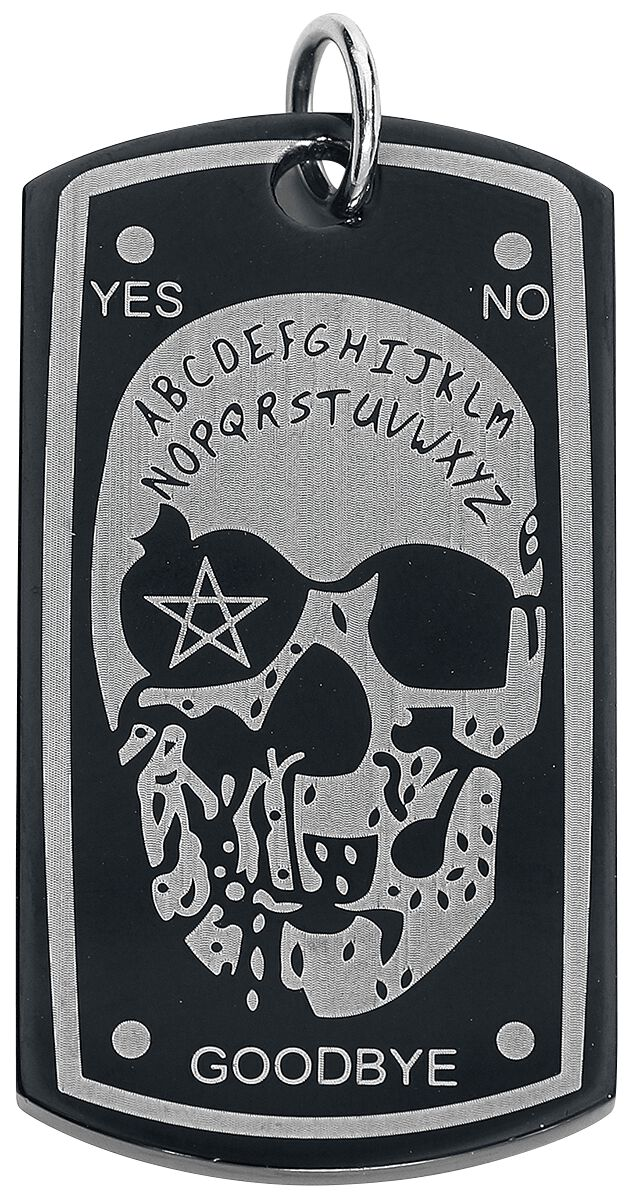 Image of Mysterium® Ouija Dogtag Dogtag schwarz