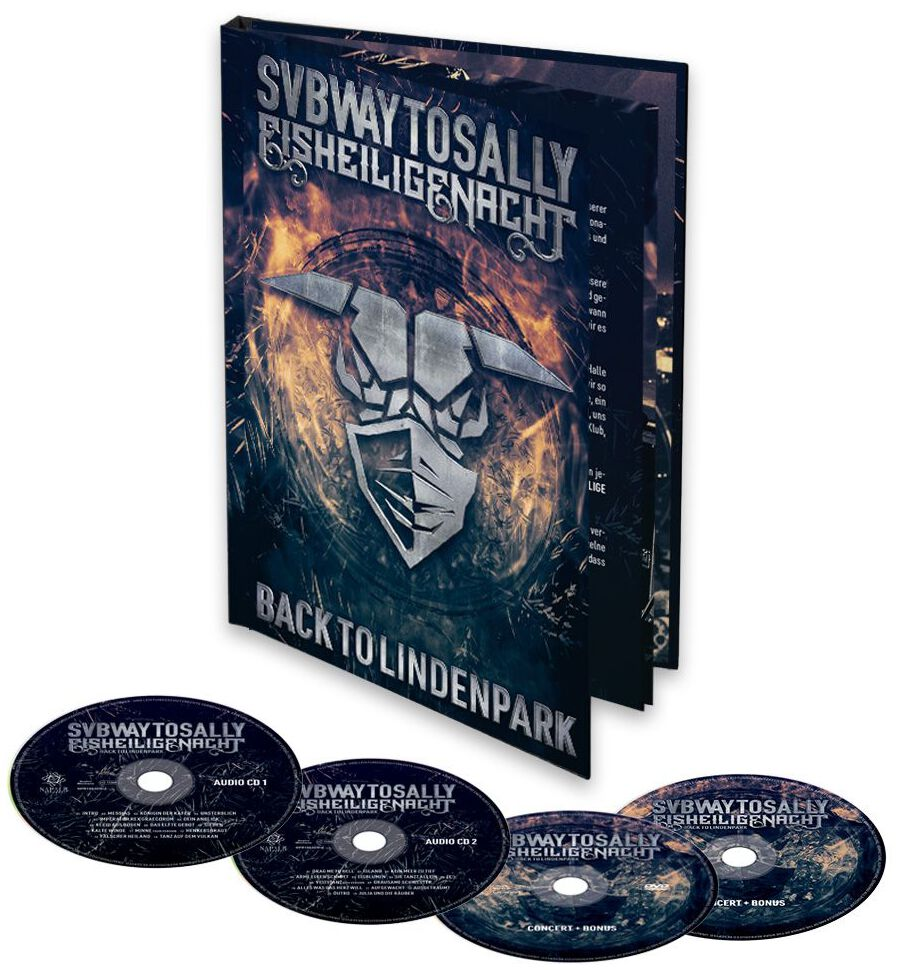 Image of Subway To Sally Eisheilige Nacht - Back to Lindenpark 2-CD & DVD & Blu-ray Standard