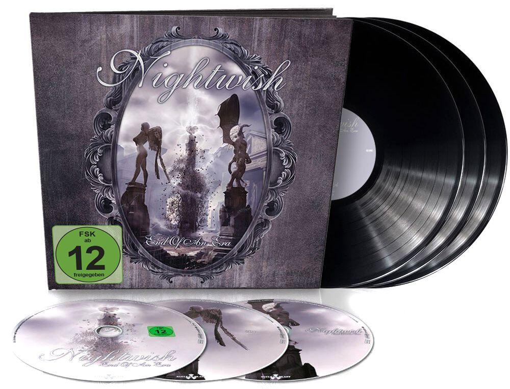 Image of Nightwish End of an era 3-LP & Blu-ray & 2-CD Standard
