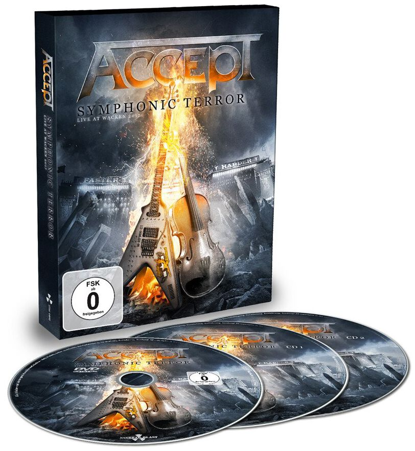 Image of Accept Symphonic terror - Live at Wacken 2017 2-CD & DVD Standard