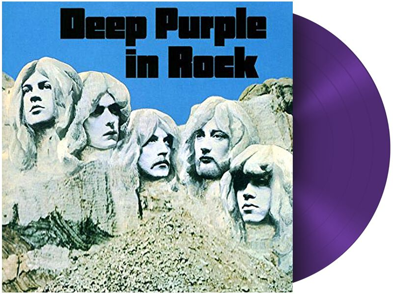 Deep Purple  In rock  LP  schwarz