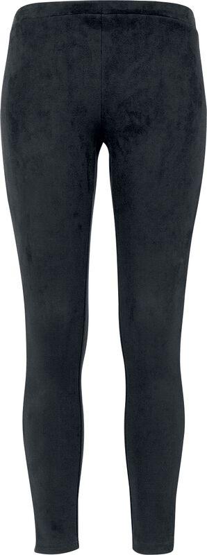 Ladies Imitation Suede Leggings