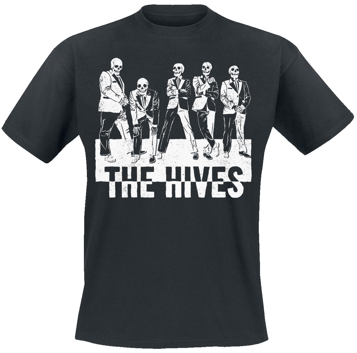 The Hives - Skeletons - T-Shirt - black image