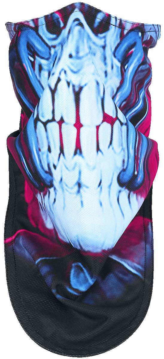 Megadeth - Cyber Army Biker Mask - Maske - schwarz  multicolor - EMP Exklusiv!