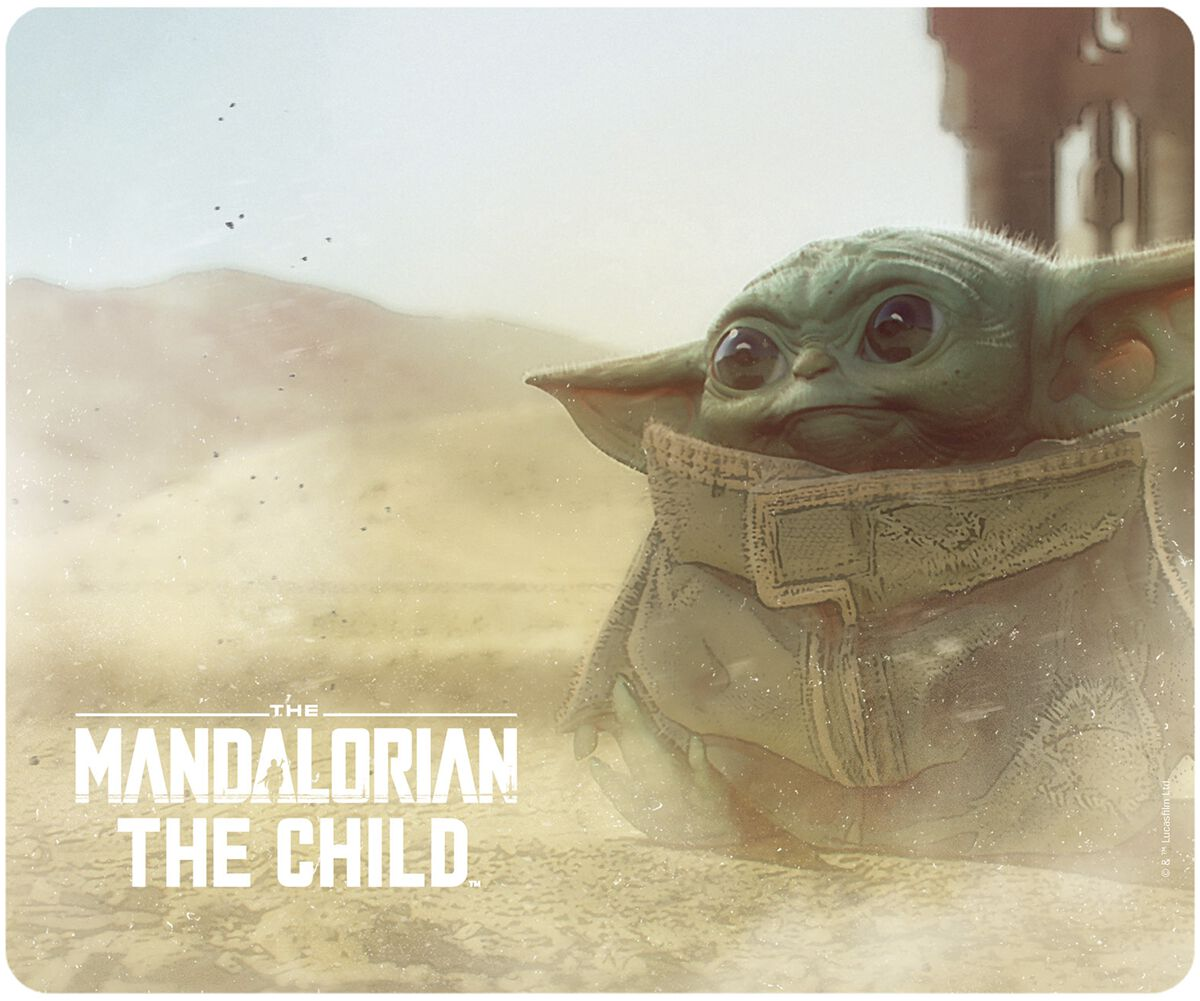 Star Wars The Mandalorian - The Child - Grogu  Mouse-Pad  multicolor