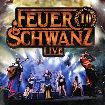 Feuerschwanz 10 Jahre Feuerschwanz Live CD multicolor 426024078452