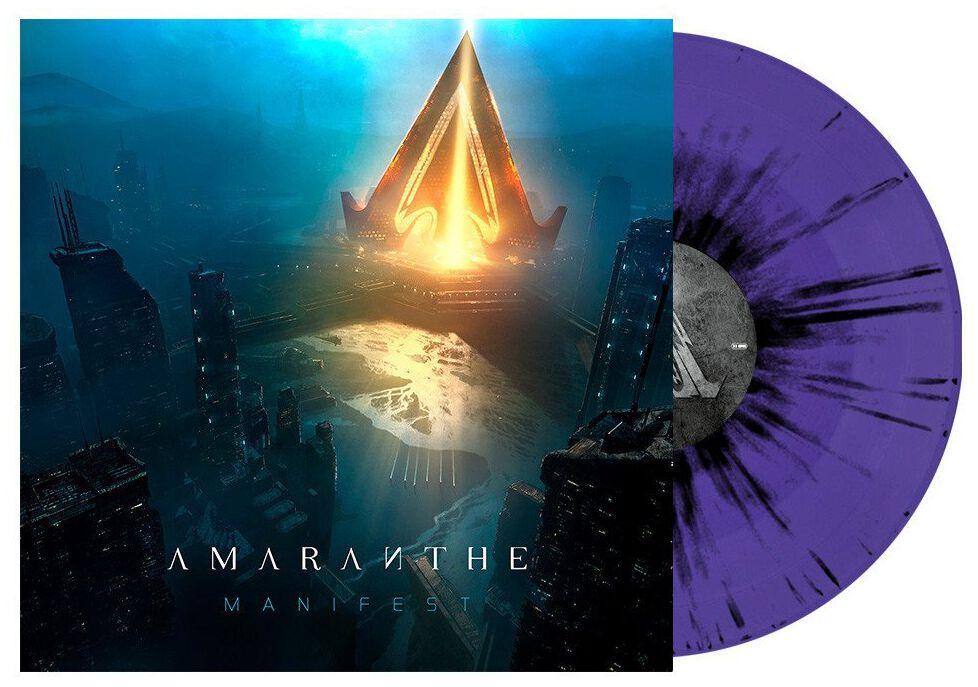 Image of Amaranthe Manifest LP farbig