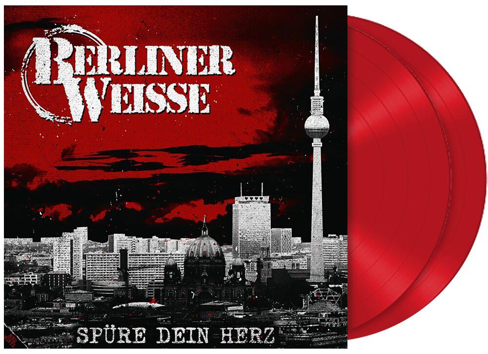 Berliner Weisse Spüre dein Herz LP rot SOTS195-1RED
