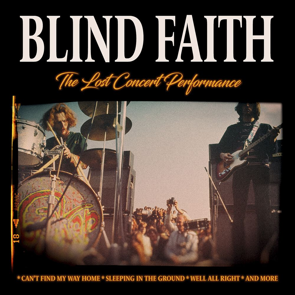 Image of Blind Faith The lost concert performance CD Standard