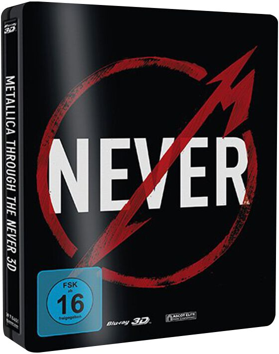 Image of Metallica Through the never Blu-ray 3D & Blu-ray (inkl. 2D-Version) Standard