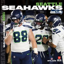Seattle Seahawks - Kalender 2021