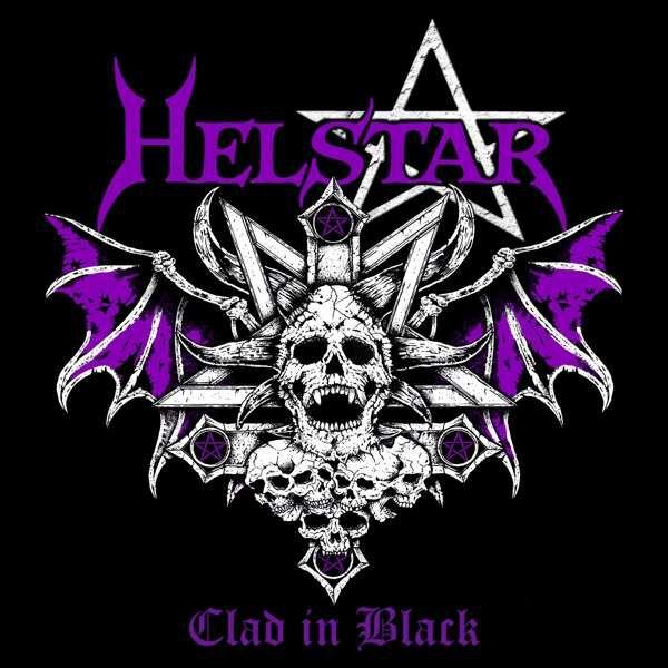 Helstar Clad in black  CD  Standard