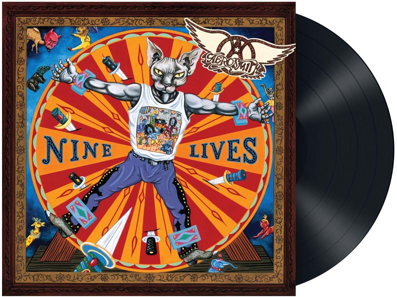 Image of Aerosmith Nine lives 2-LP Standard