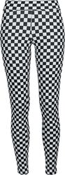 Ladies Check Pattern Leggings