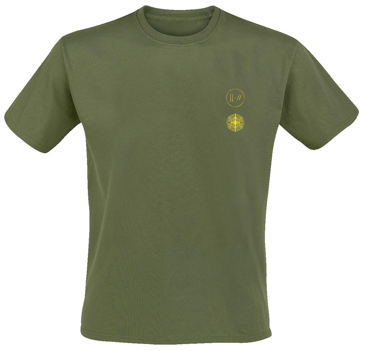 Twenty One Pilots - Cover Me Logo - T-Shirt - green image