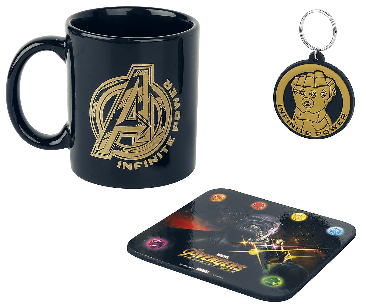 Image of Avengers Infinity War - Geschenk-Set Fanpaket Mehrfarbig