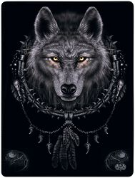 Wolf Dreams Fleecedecke