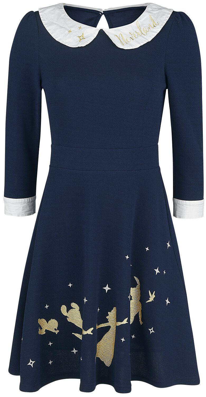 Kleider - Peter Pan Neverland Kurzes Kleid blue  - Onlineshop EMP
