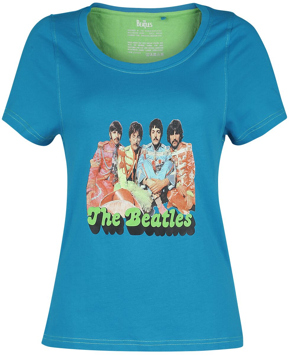The Beatles Magical T-Shirt türkis RPLIBE20 Beatles Magical-Ladies Tee