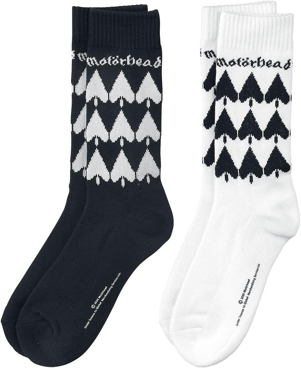 Motörhead Ace of spades - Socken - 2er Pack Socken schwarz weiß MC1012