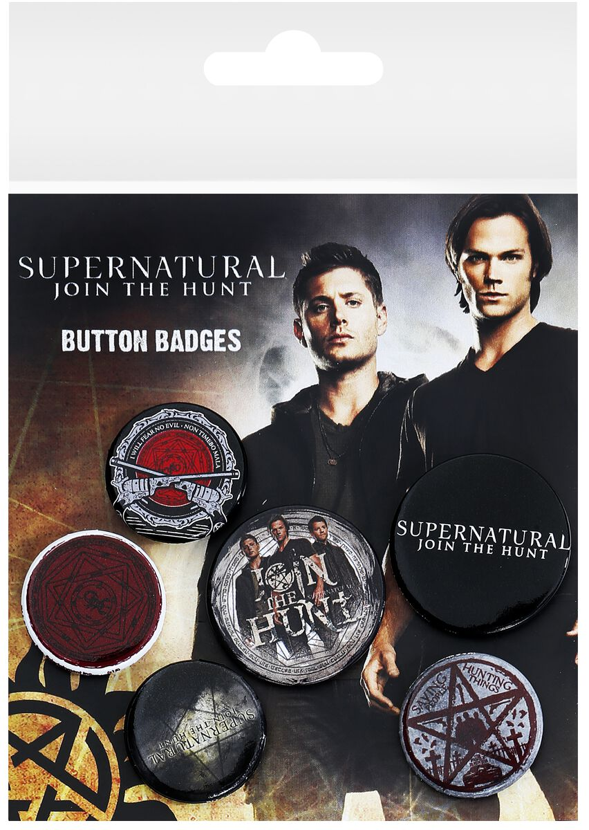 Image of Supernatural Saving People Button-Pack multicolor