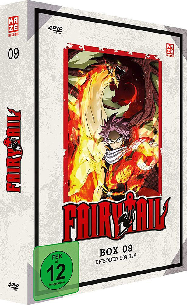 Image of Fairy Tail Box 09 - Episoden 204-226 4-DVD Standard
