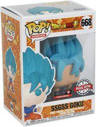 Super - SSGSS Goku Vinyl Figure 668