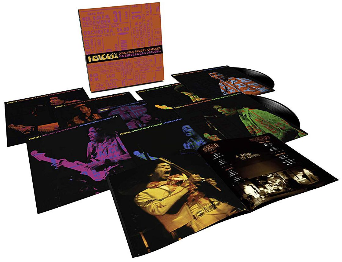 Image of Jimi Hendrix Songs for groovy children: The fillmore east concerts 8-LP Standard