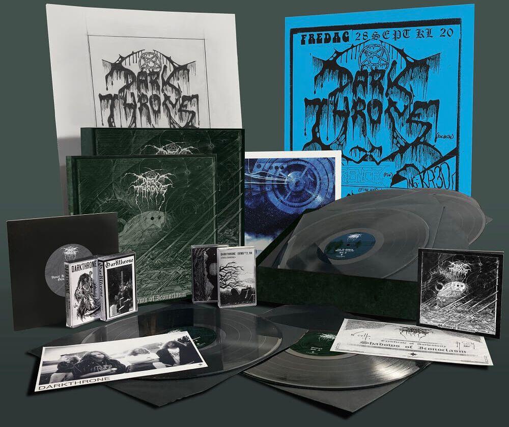 Image of Darkthrone Shadows of Iconoclasm 6-LP Standard