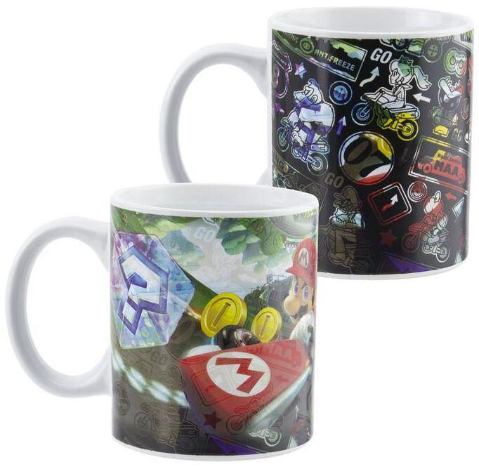 Image of Super Mario - Mario Kart Heat-Change Mug - Tazza - Unisex - multicolore