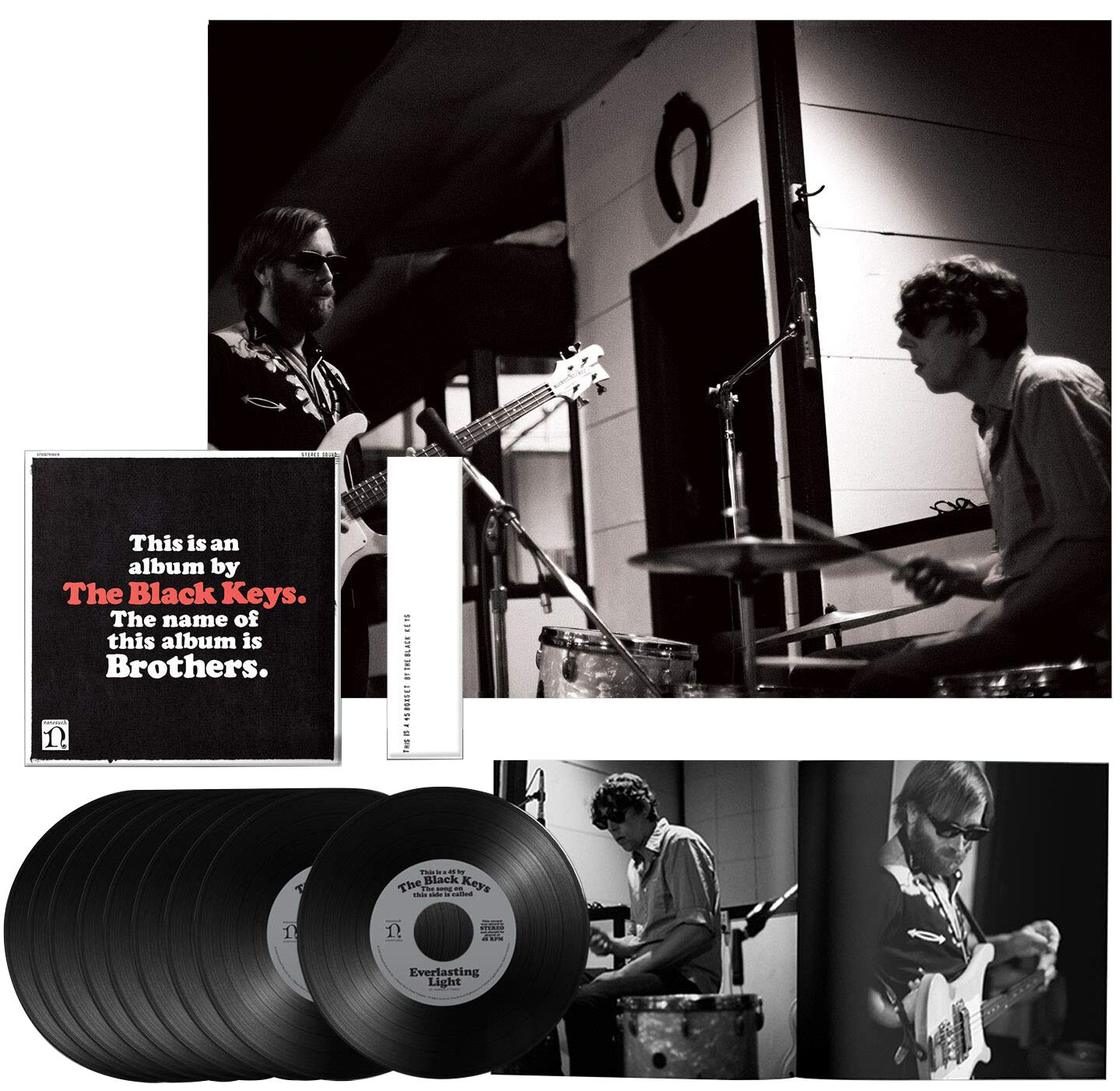 Image of The Black Keys Brothers 9 x 7 inch-SINGLE Standard