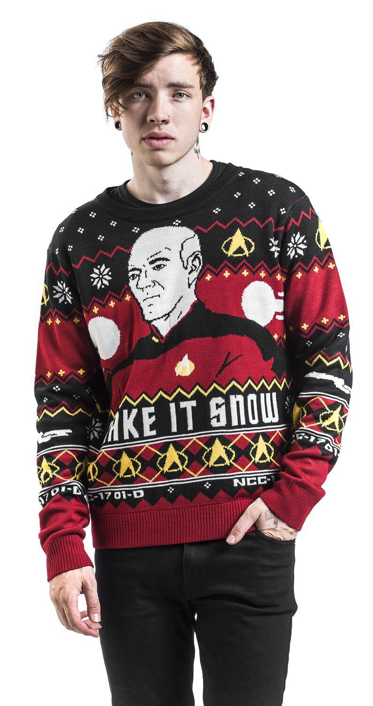 Partner Pullover Weihnachten.Make It Snow