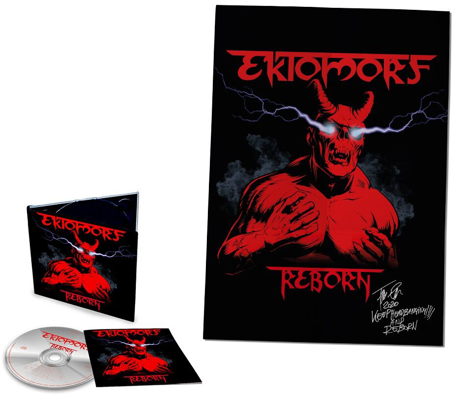 Image of Ektomorf Reborn CD & Poster Standard