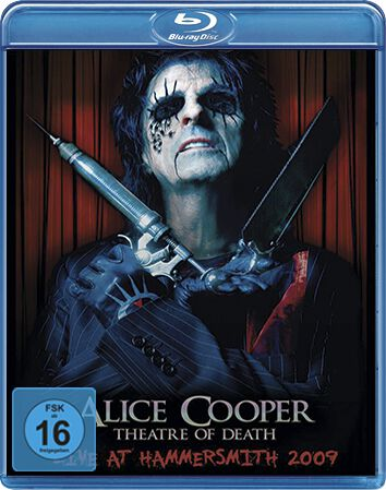 Image of Alice Cooper Theatre of death - Live at Hammersmith 2009 Blu-ray Standard