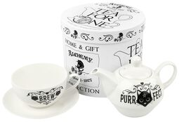 Purrfect Brew - Tea for One Set